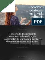 Ejercicios espirituales en la vida ordinaria