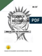 MB-207 Research Methodology