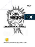 MB-207 Research Methodology