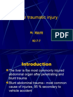 Liver traumatic injury