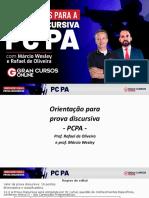 PCPA redação com prof. Rafael