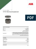 1SFA616075R1002-kt70-1002-anschlusselement