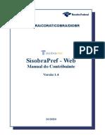 Manual Sisobrapref Web v 1 4 Contribuinte Prefeitura 102020 Atual