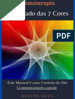 E-book Cromoterapia o Significado das 7 Cores