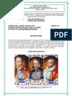 Guía 2, Literatura Medieval Española