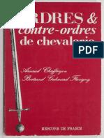 ORDRES & CONTRE-ORDRES DE CHEVALERIE