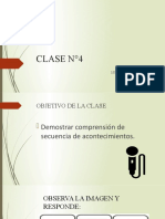 Clase N°4 - Segundo Semestre 3° Básico