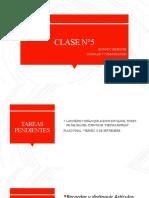 Clase N°5 - Segundo Semestre 3° Básico
