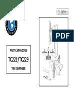 MANUAL MAQUINA DESMONTADORA TC221-229_partslist
