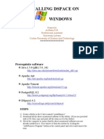 Dspace on windows