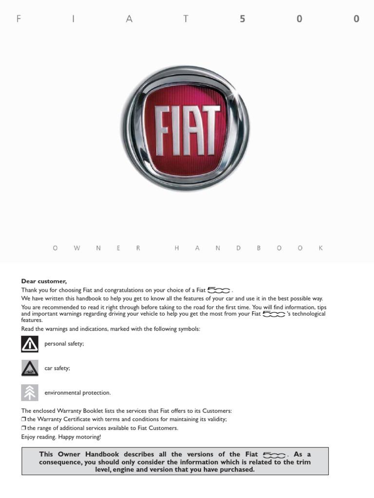 Fiat 500 Dualogic Handbook