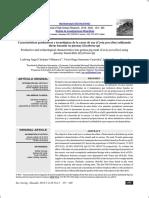 Características Productivas y Tecnológicas de La Carne de Cuy (Cavia Porcellus) Utilizando Dietas Basadas en Pisonay (Erythrina Sp)