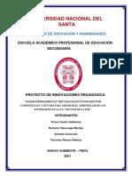 PROYECTO DE INNOVACIÓN PEDAGÓGICA OFICIAL PRESENTAR (1)