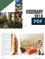 Sanctuary magazine issue 14 - Visionary Villa - Parkside, SA green home profile