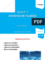 sesion 3 Mecanica de fluidos