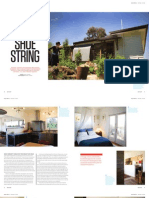 Sanctuary magazine issue 14 - On a Shoestring - Castlemaine, VIC green home profile
