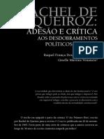 Rachel de Queiroz - O Ato Número Dois - Por Raquel França Dos Santos Ferreira Et Al