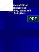 Chapter 1 Managerial Economics
