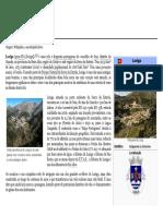 História de Loriga – Por António Conde No Artigo Sobre Loriga Que Ele Criou Na Wikipedia