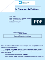 5 - Definitions - Marches Financiers