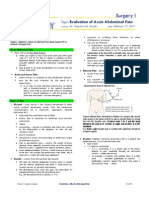 Evaluation of Acute Abdomen 2013A