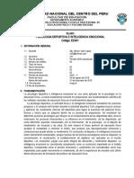 Silabo-Psicologia deportiva  2020 - II ojo
