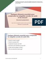 Jasp2019 Inegalites Sociales Marie France Raynault Ligne Depart