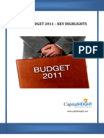 Union Budget :- A Special Report By CapitalHeight