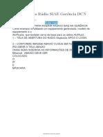 Guia Inclusão Rádio SIAE Gerência DCN