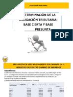 PRESUNCIONES -CASO PACRTICO