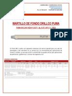 MARTILLO DE FONDO QL-5 DRILLCO PUMA