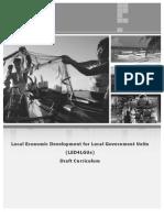 LED4LGUs Curriculum_Draft
