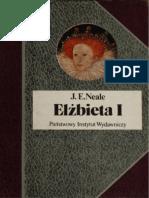 J. E. Neale - Elżbieta I