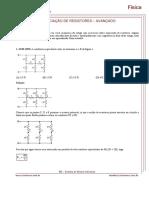 Circuito - Associação de Resistores Avançado - Exercicios Resolvidos
