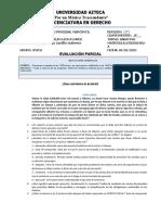 Evaluacion  Derecho Procesal Mercantil 2021