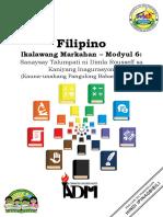 filipino10_q2_mod6_Sanaysay Talumpati ni Dimla Rousseff
