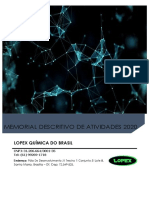 memorial descritivo de atividades para o ibram lopex (2020)