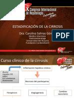 Estadificacion de La Cirrosis Carolina Salinas