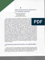 Parga (2020). Desarrollo del análisis funcional de la conducta humana