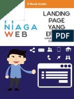 EBOOK GRATIS - Cara Ampuh Membuat Landing Page Efektif Untuk Mendapatkan Nomor Kontak Target Market