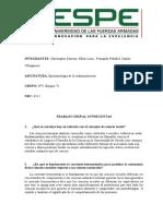 Cuestionario Epistimología de La Investigación León-Moreno-Peñafiel-Villagomez