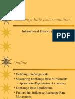 Exchange Rate Determination (1)