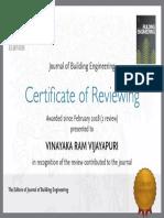 certificate JOBE