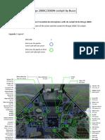 3D cockpit Mirage 2000C-2000N