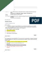Pre -Test Information