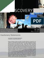 2010 Silver Bear Resources AGMPresentation