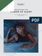 Sleep E Book Power of Sleep