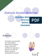 Trabalho - Novas doencas sociais