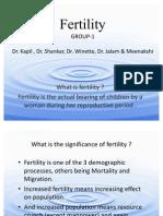 Fertilty Combined final Group-1