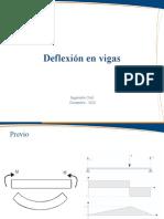 Deflexion en Vigas